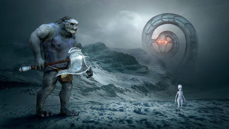 巨人と宇宙人